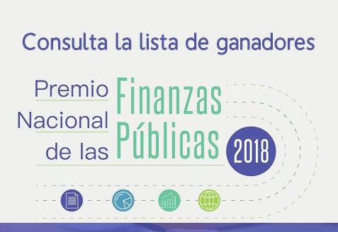 Premio Nacional de las Finanzas Públicas 2018