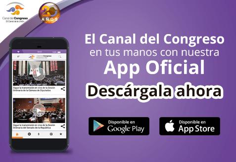 Descarga aquí la nueva App del Canal del Congreso de forma gratuita