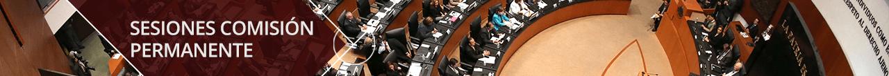 Sesiones Comisión Permanente