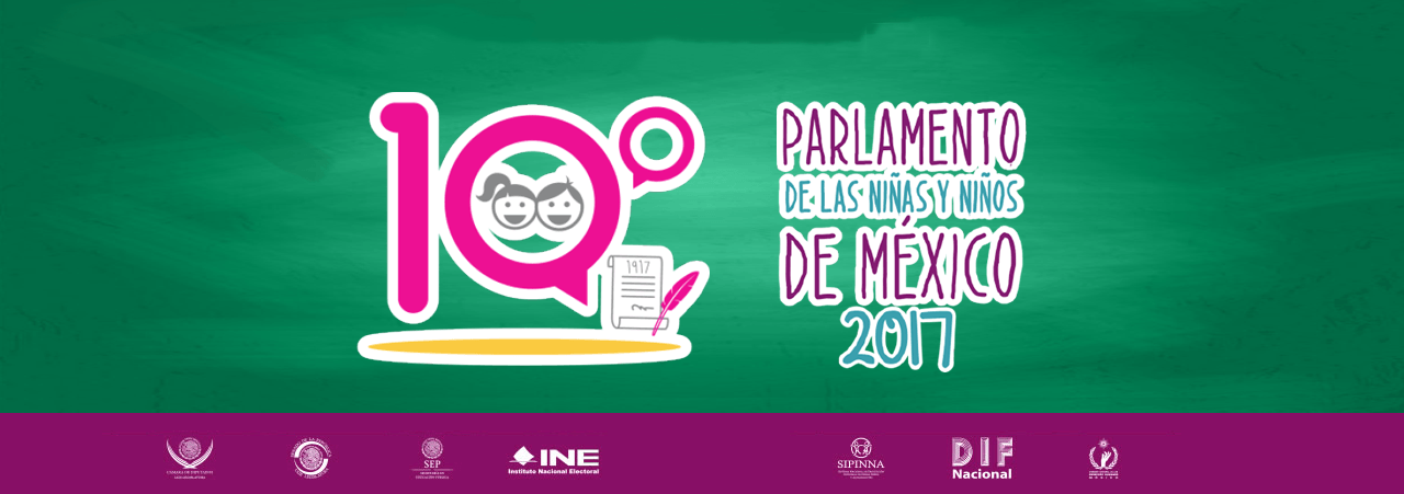 Convocatoria al 10 parlamento de los niños y las niñas de México 2017