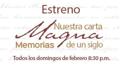 Estreno Carta Magna