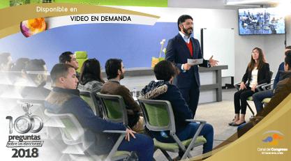 100 preguntas sobre las elecciones 2018. Disponible en Video en Demanda