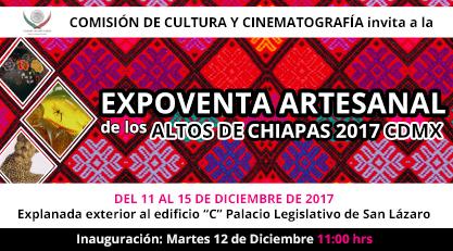 COMISIÓN DE CULTURA Y CINEMATOGRAFÍA invita a la EXPOVENTA ARTESANAL