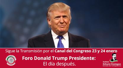 Donald Trump Presidente El día después