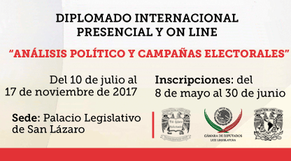 Diplomado Internacional Análisis Político y Campañas Electorales