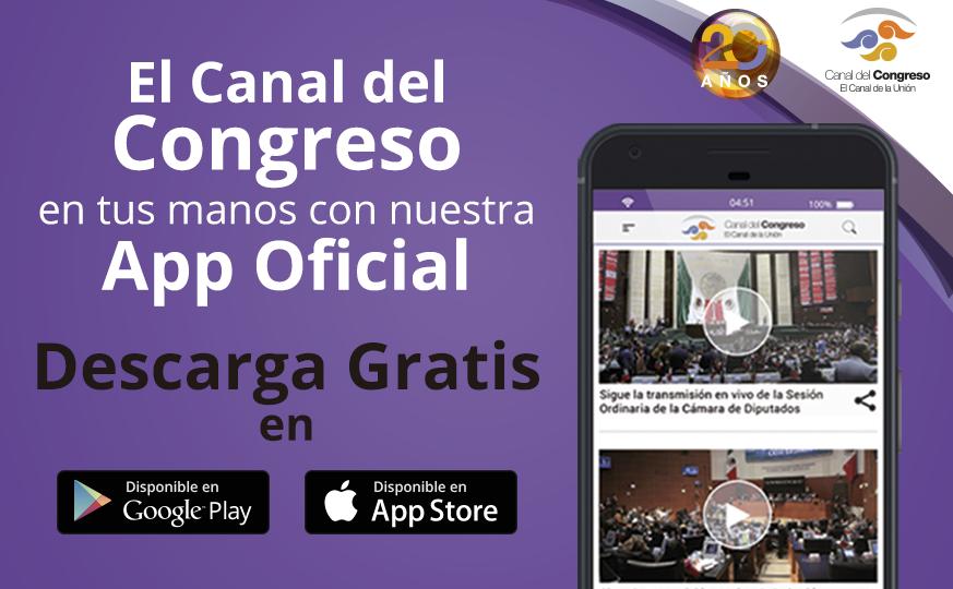 Aplicación del Canal del Congreso