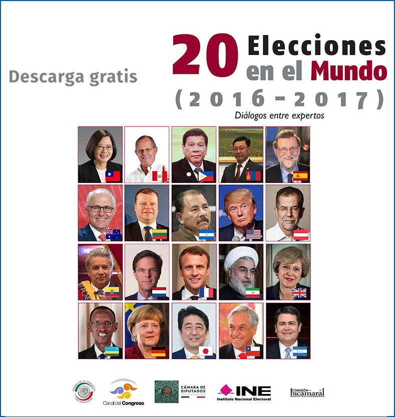 20 ELECCIONES EN EL MUNDO (2016-2017)