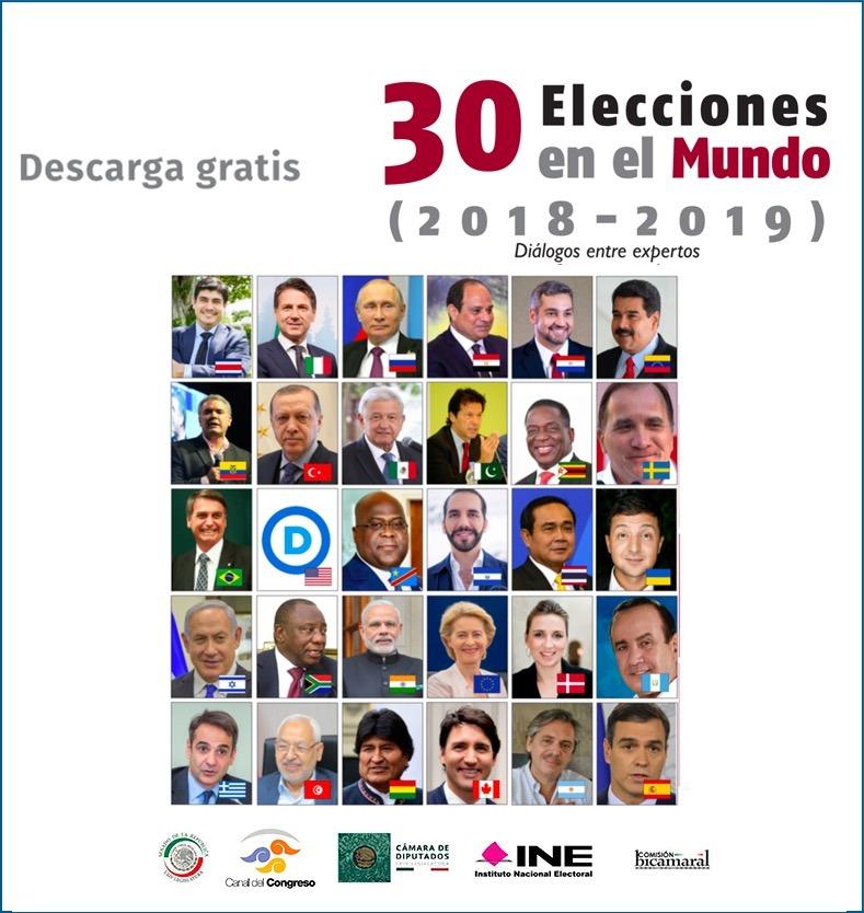 30 ELECCIONES EN EL MUNDO (2018-2019)