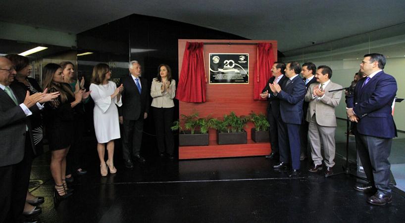 Develan+en+el+Senado+placa+que+conmemora+el+20+aniversario+del+Canal+del+Congreso