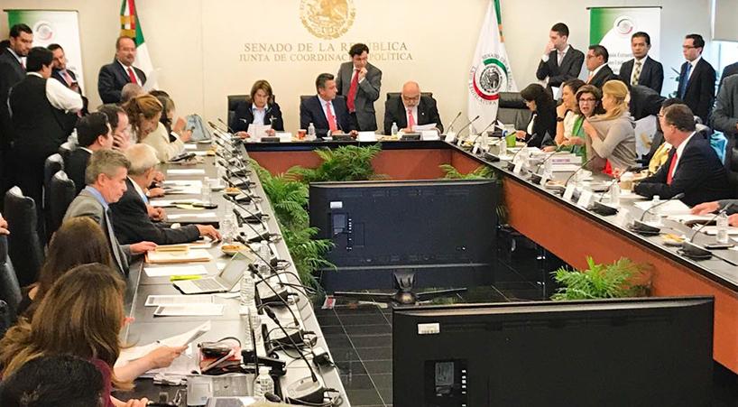 Analizan+comisiones+del+Senado+dictamen+que+expide+la+Ley+General+de+Comunicaci%C3%B3n+Social
