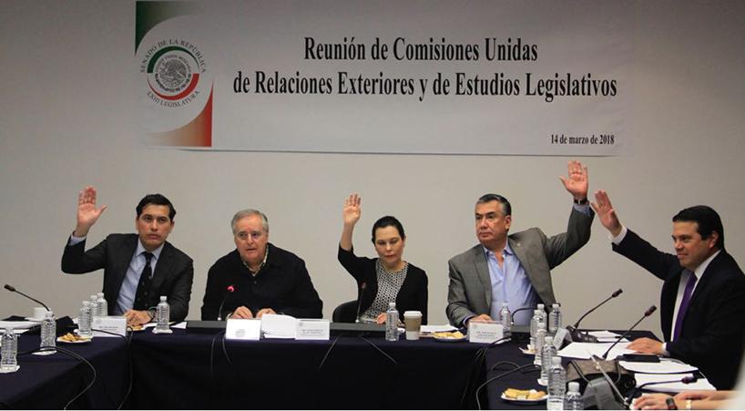 Avalan+en+comisiones+del+Senado+reforma+para+actualizar+Ley+del+Servicio+Exterior+Mexicano