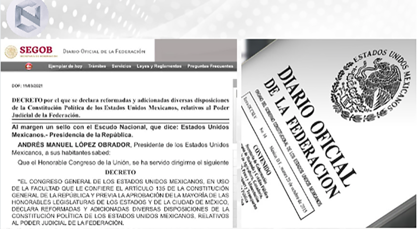 DOF+publica+decreto+de+reformas+relativas+al+Poder+Judicial+de+la+Federaci%C3%B3n+