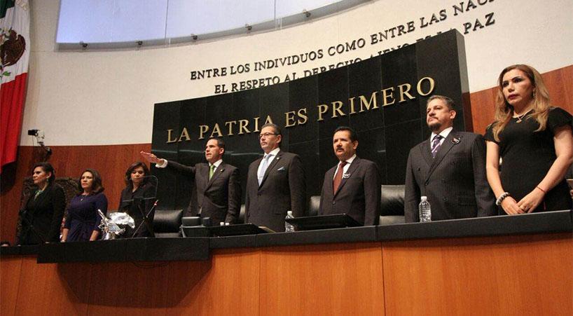 Senado+legalmente+constituido+para+Periodo+Ordinario+de+Sesiones