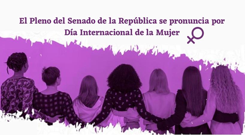 El+Pleno+del+Senado+de+la+Rep%C3%BAblica+se+pronuncia+por+D%C3%ADa+Internacional+de+las+Mujeres+