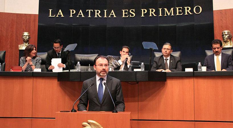Noticias del congreso exigen senadores al gobierno for Gobierno exterior
