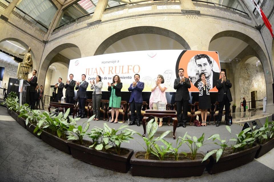 Rinden+legisladores+homenaje+a+Juan+Rulfo