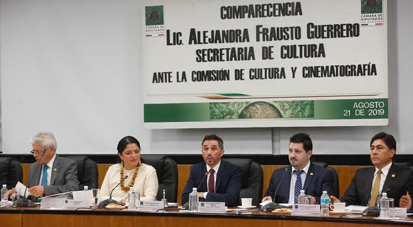 Titular+de+Cultura+comparece+ante+Comisi%C3%B3n+de+la+C%C3%A1mara+de+Diputados