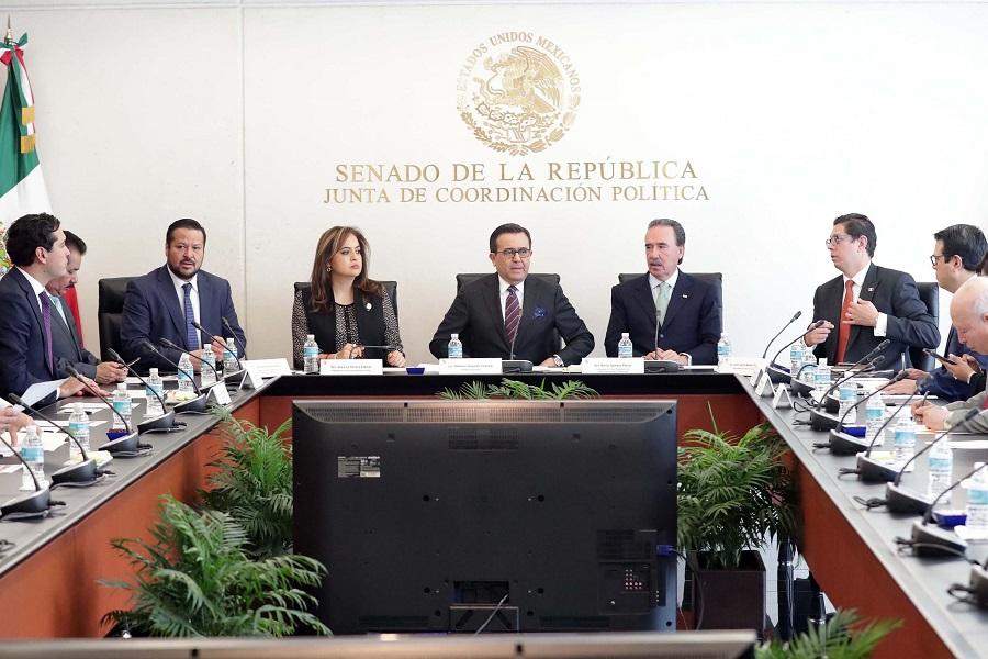 Senadores+y+secretario+de+Econom%C3%ADa+dialogan+sobre+negociaciones+del+TLCAN