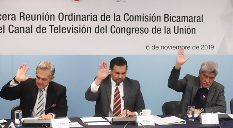 Comisi%C3%B3n+Bicameral+alista+multiprogramaci%C3%B3n+del+Canal+del+Congreso