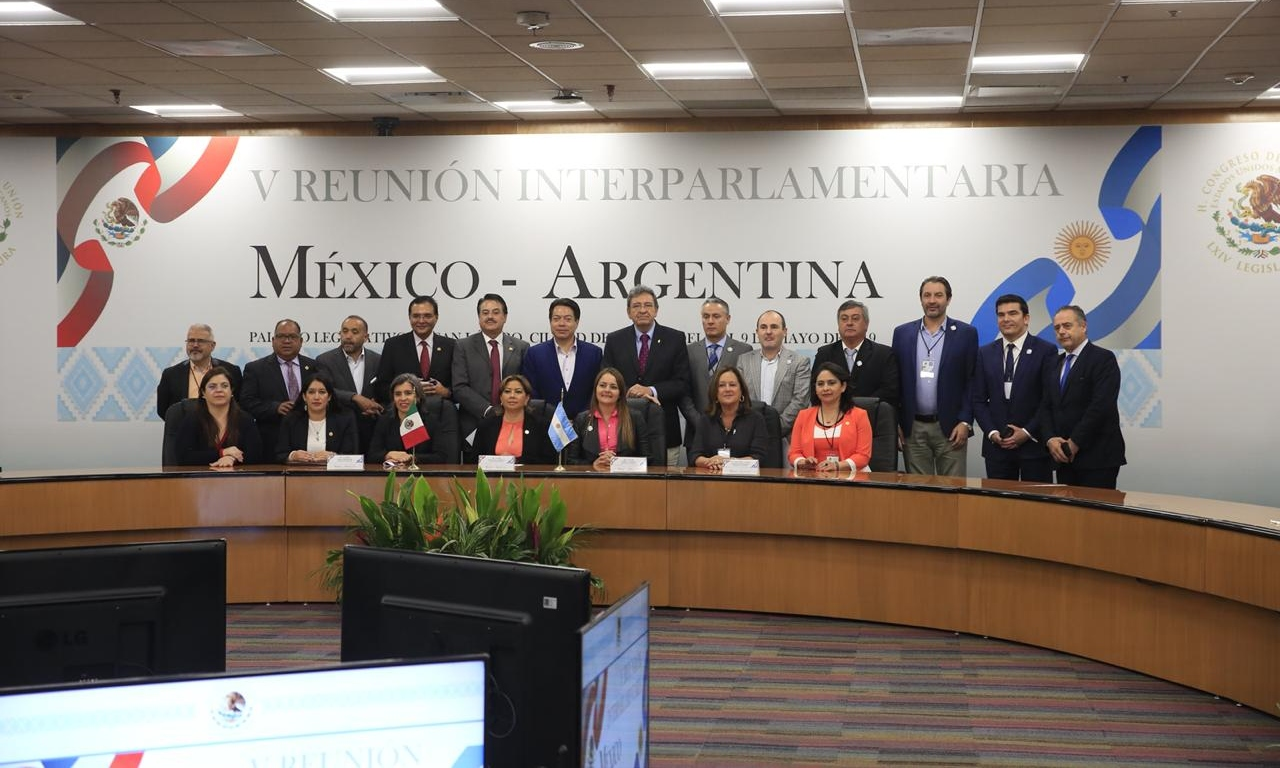 Clausuran+trabajos+de+la+V+Reuni%C3%B3n+Interparlamentaria+M%C3%A9xico-Argentina