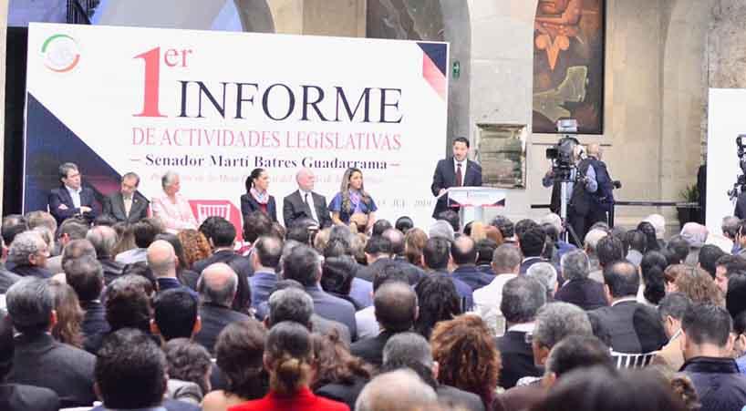 Presidente+del+Senado+de+la+Rep%C3%BAblica%2C+presenta+su+Primer+Informe+de+Labores+Legislativas