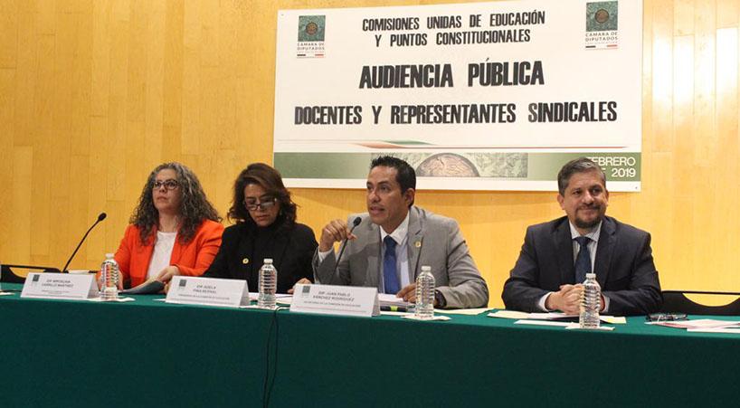 Inauguran+Audiencias+P%C3%BAblicas+para+analizar+reforma+constitucional+de+educaci%C3%B3n+