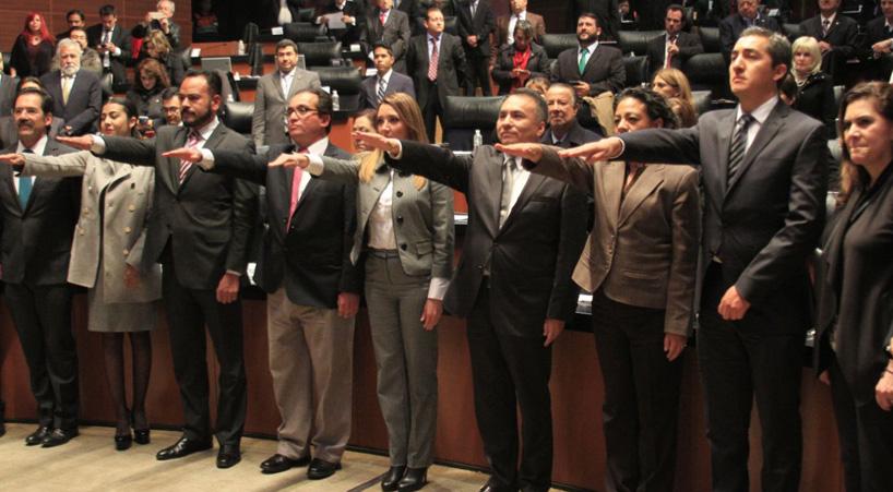 Designa+Senado+a+ocho+magistrados+electorales+locales%3B+rinden+protesta+ante+el+Pleno