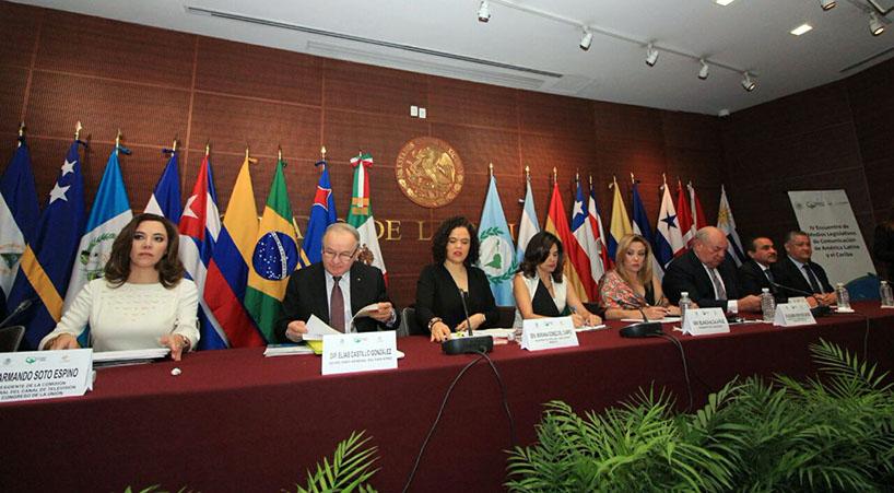 Inauguran+IV+Encuentro+de+Medios+Legislativos+del+Parlatino
