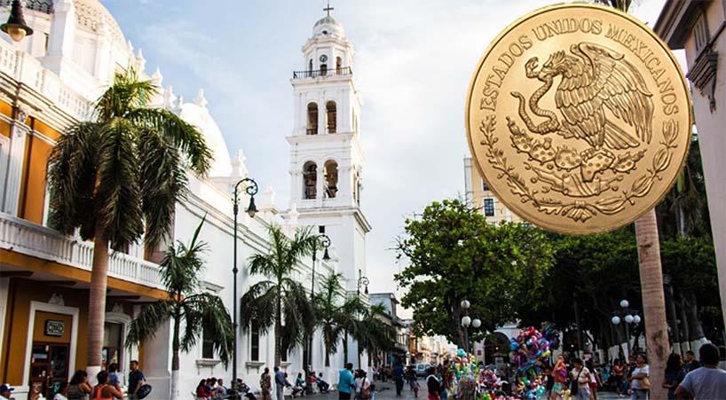 Avalan+caracter%C3%ADsticas+de+moneda+conmemorativa+de+los+500+a%C3%B1os+de+la+fundaci%C3%B3n+de+la+ciudad+y+puerto+de+Veracruz