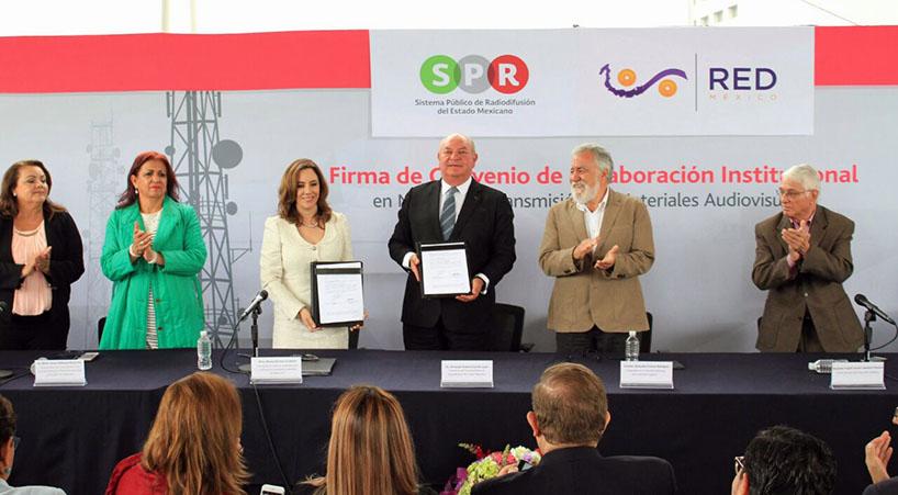 Firman+La+Red+y+el+SPR+convenio+de+colaboraci%C3%B3n