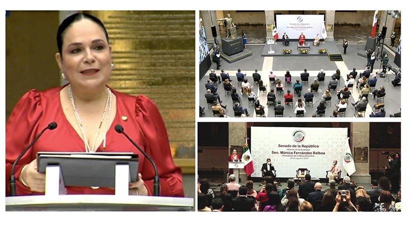 Presidenta+del+Senado+de+la+Rep%C3%BAblica+presenta+informe+de+actividades+legislativas