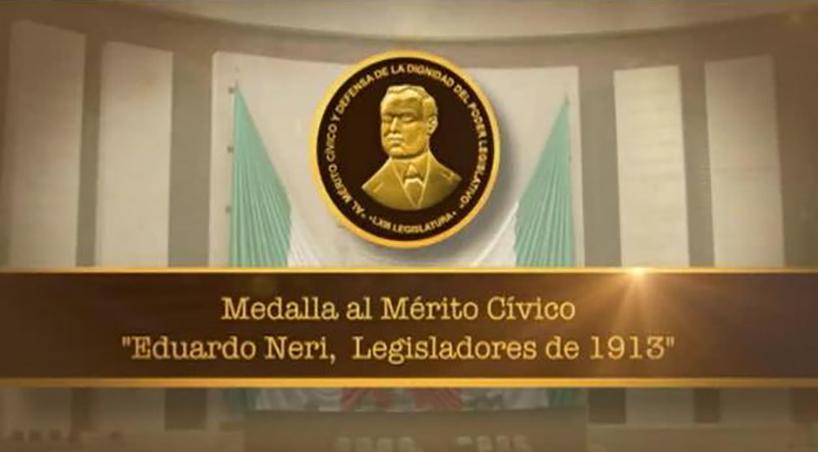 Convocan+diputados+a+presentar+aspirantes+a+la+Medalla+al+M%C3%A9rito+C%C3%ADvico+Eduardo+Neri++