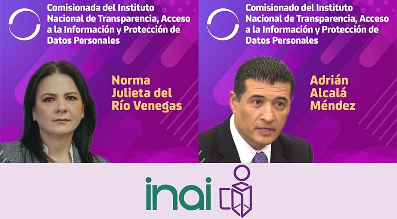 Rinden+protesta+comisionados+del+INAI+
