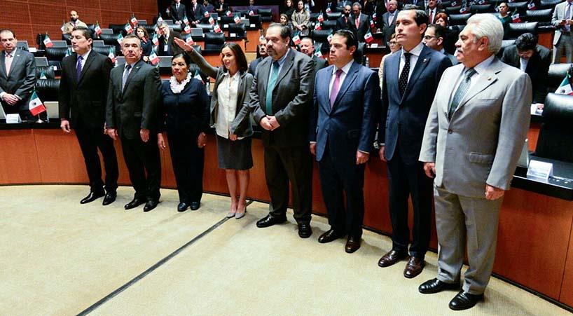 Rinde+protesta+Alejandra+Palacios+Prieto+como+presidenta+de+la+Cofece++