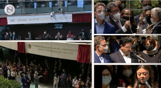 Inscriben+en+el+Senado+leyendas+para+conmemorar+el+Bicentenario+de+la+Independencia+de+M%C3%A9xico+