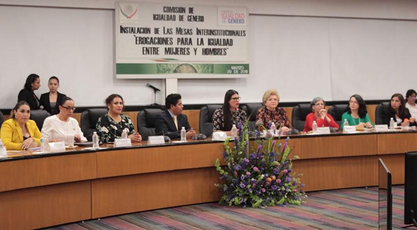 Instalan+en+C%C3%A1mara+Baja+Mesa+interinstitucional%3A+Erogaciones+para+igualdad+entre+mujeres+y+hombres