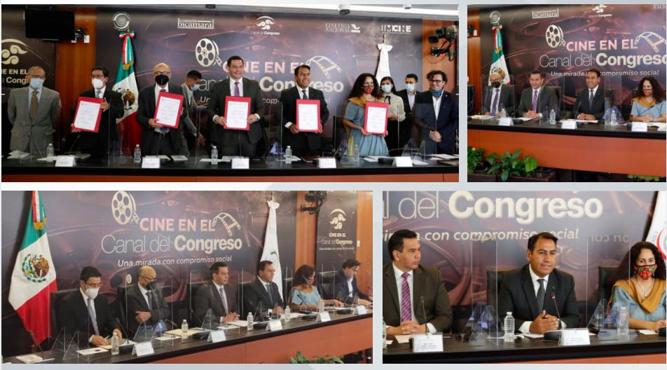 Canal+del+Congreso+firma+convenio+de+colaboraci%C3%B3n+con+Imcine+y+la+Cineteca+Nacional++