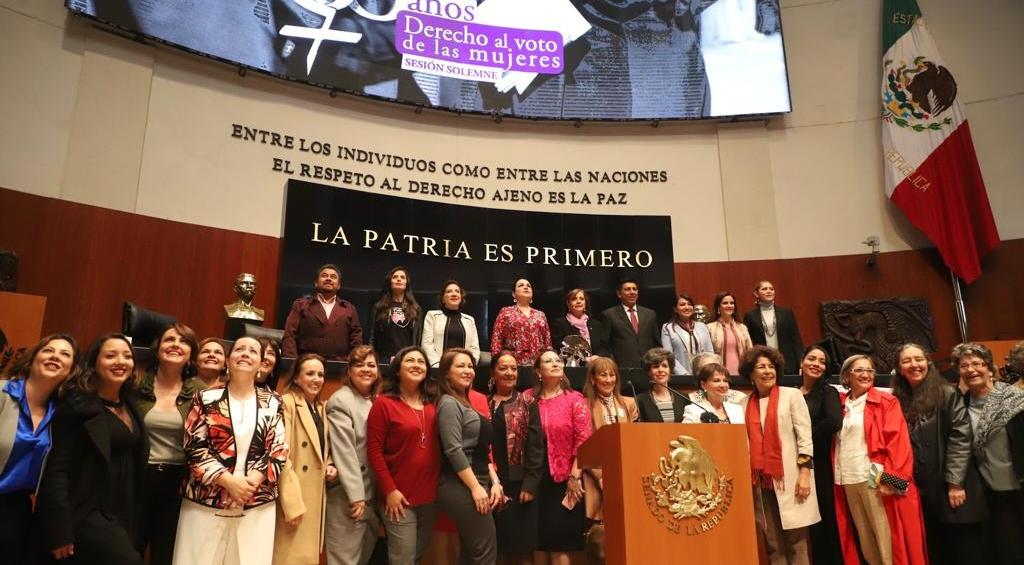 Conmemoran+en+Senado%2C+66+aniversario+del+reconocimiento+al+voto+de+la+mujer+