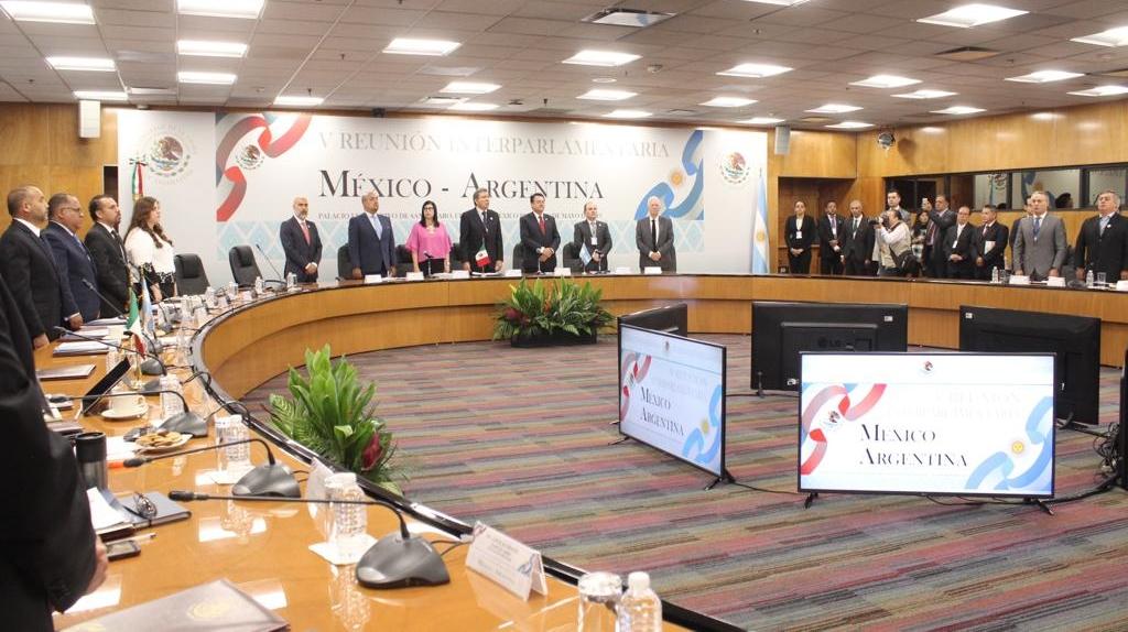 Inauguran+en+San+L%C3%A1zaro%2C+V+Reuni%C3%B3n+Interparlamentaria+M%C3%A9xico-Argentina+