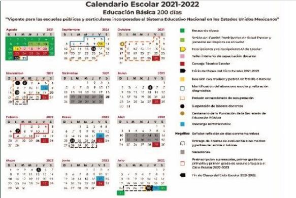 Publican+en+DOF+calendario+escolar+2021-2022+para+educaci%C3%B3n+b%C3%A1sica+