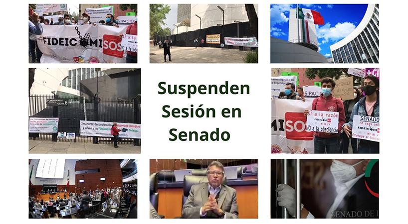 Ante+manifestaciones+en+el+Senado+posponen+comparecencia+de+titular+de+SRE+y+suspenden+Sesi%C3%B3n+