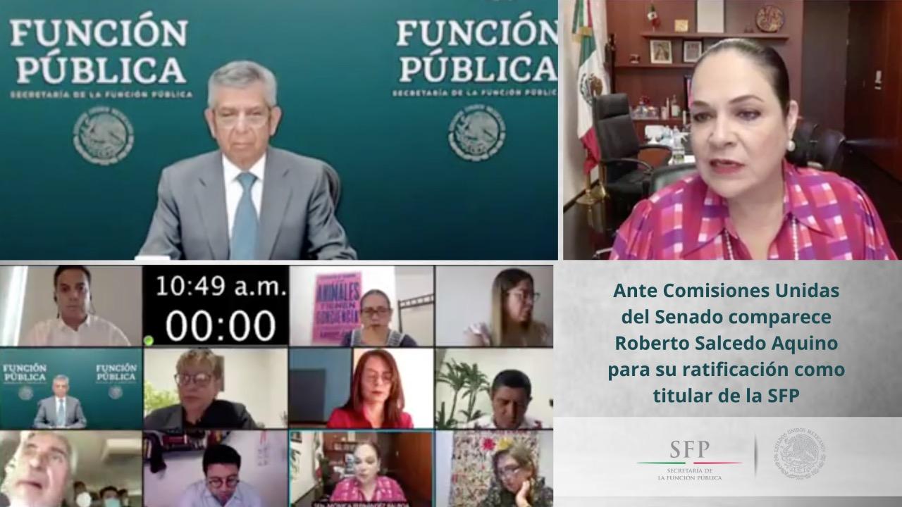 Comisiones+Unidas+del+Senado+ratifican+a+Roberto+Salcedo+Aquino+como+titular+de+la+SFP