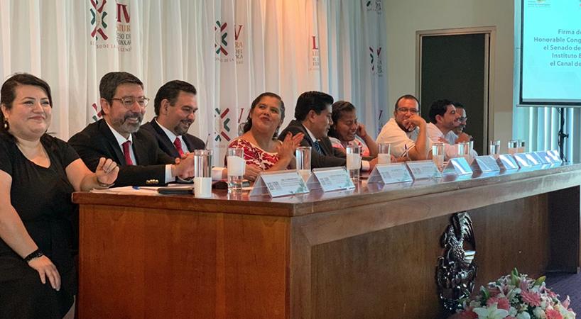 Canal+del+Congreso%2C+IBD+y+Congreso+de+Oaxaca%2C+firman+convenio+de+colaboraci%C3%B3n