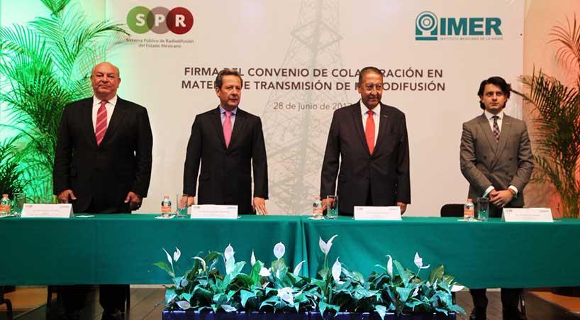 Firman+convenio+en+materia+de+transmisi%C3%B3n+de+radiodifusi%C3%B3n+SPR+e+IMER