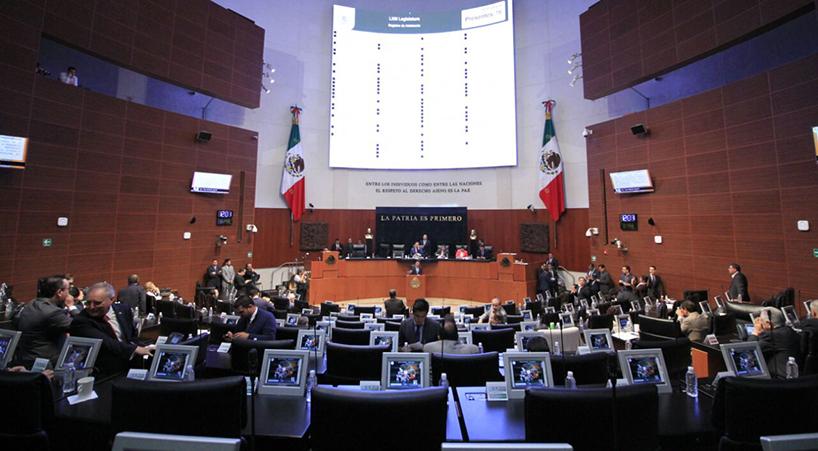 Debate+en+el+Senado+por+solicitud+de+licencia+de+comisionada+del+INAI