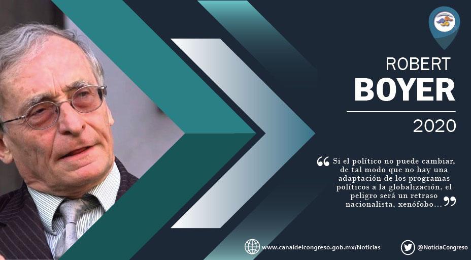 El+Canal+del+Congreso+entrevista+al+economista+franc%C3%A9s+Robert+Boyer+