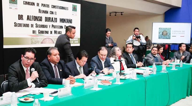 Alfonso+Durazo+Monta%C3%B1o+presenta+aspectos+para+crear+la+Guardia+Nacional+