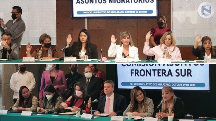 Comisiones+de+Asuntos+Migratorios+y+Frontera+Sur+se+instalan+para+la+LXV+Legislatura