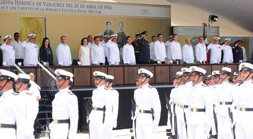 Conmemoran+el+CIII+Aniversario+de+la+Gesta+Heroica+de+Veracruz